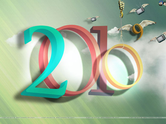 2010 wallpaper by santabanta