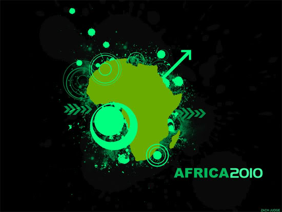 Africa 2010 wallpaper by r-o-v-e
