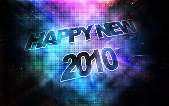happy new 2010 by magixter