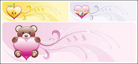 valentine's day sweet banner