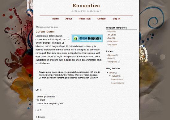 Romantica Template