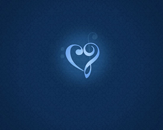 Diamond Heart wallpaper