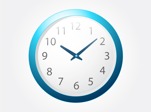 Vector Clock Icon