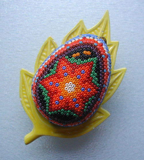Mexican Beaded Egg
