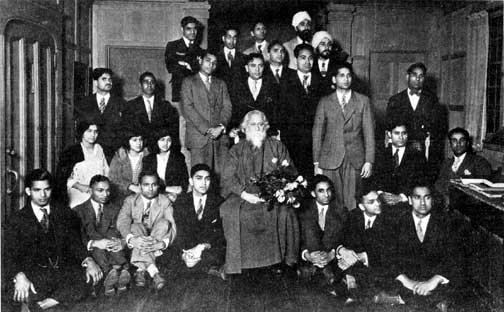 Tagore at University of California, Berkeley
