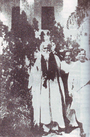Tagore visiting University of Dhaka