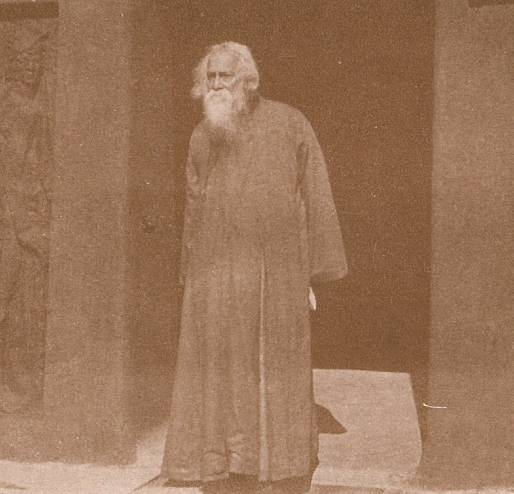 Tagore in Santiniketan
