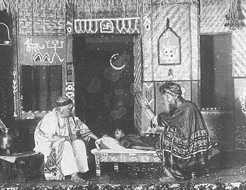 Tagore as Fakir in his play Dakghar