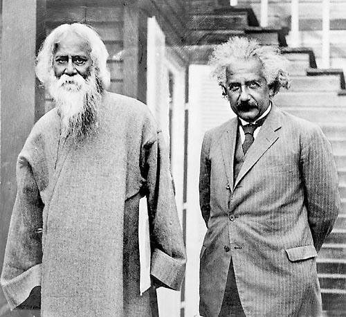 Tagore with Albert Einstein