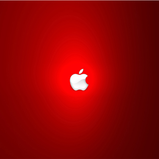 Strong Red iPad