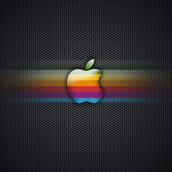 Apple Logo Rainbow