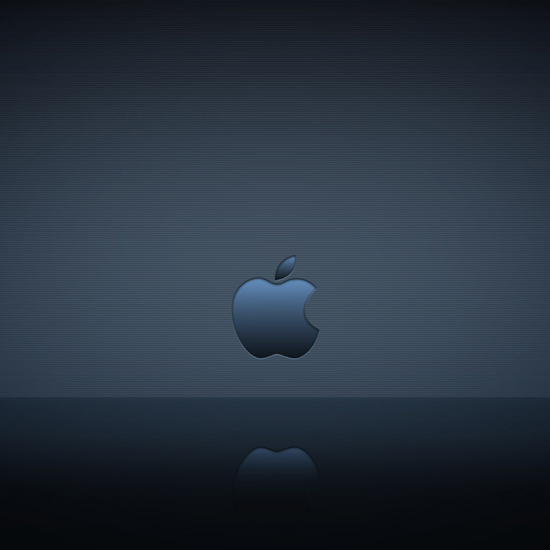 Apple Logo Reflection