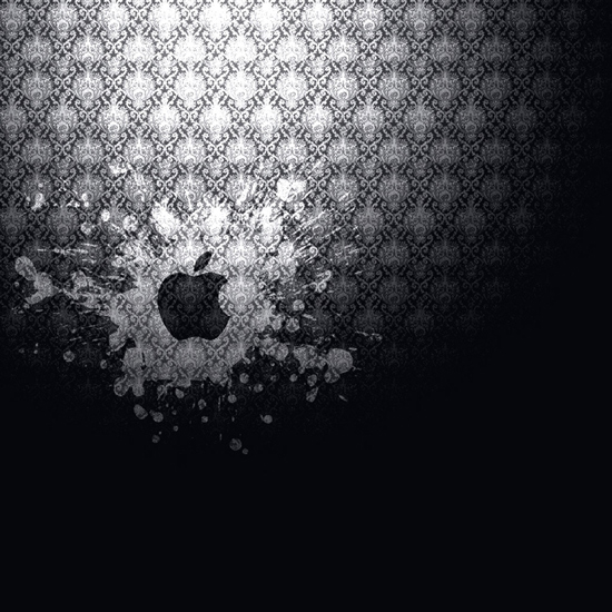 Apple Logo Splash iPad