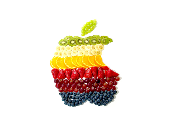 Fruity Apple iPad