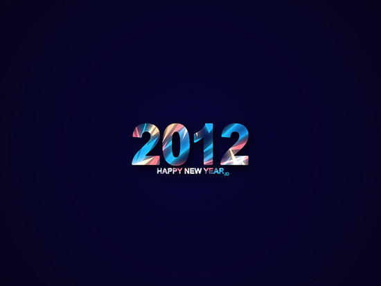2012 New Year Wallpaper
