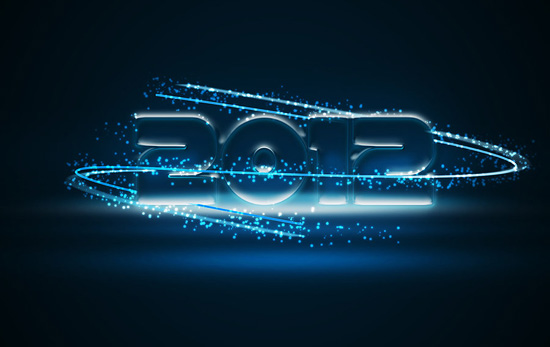 2012 Neon Light Wallpaper