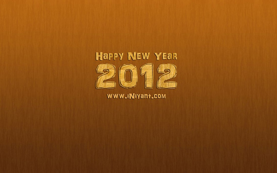 2012 Wooden Wallpaper