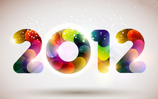 Amazing 2012 New Year Wallpaper