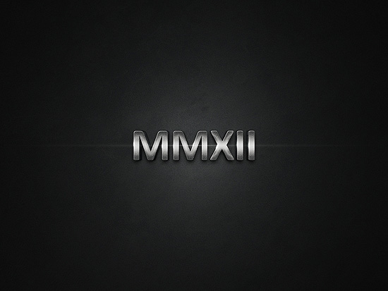 MMXII 2012 wallpaper