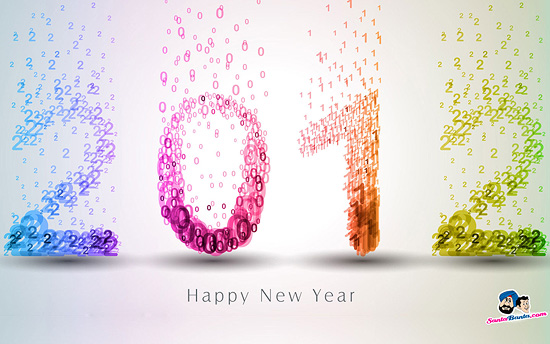New Year 2012 wallpaper 1