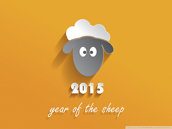 2015 Year of Sheep wallpaper