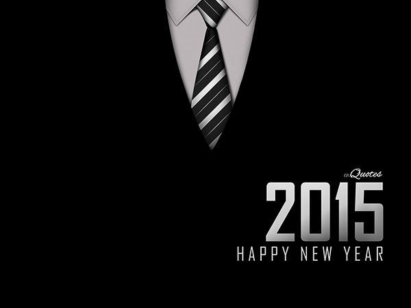 Happy New Year Wallpaper - enQuotes