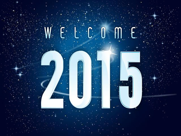 Welcome 2015 HD Wallpaper