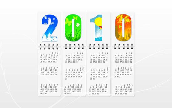 calendar 2010 by aglash