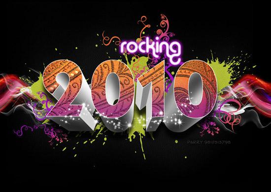 happy new year 2010 by whackysard