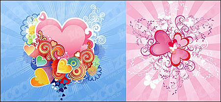 exquisite heart shapes