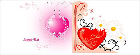 love and pattern vector