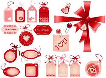 Valentine Ribbon Banners