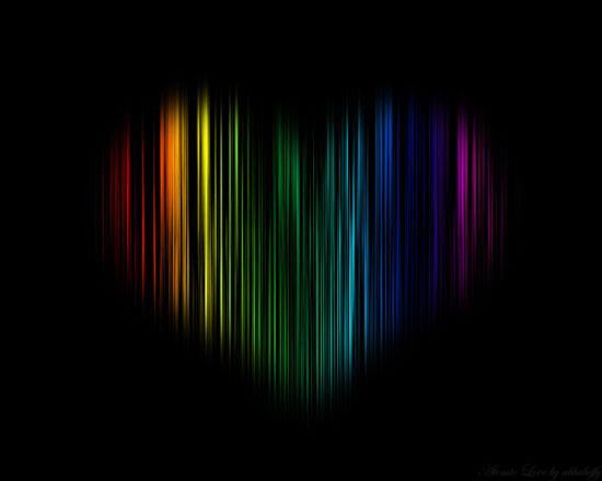 Atomic Love wallpaper