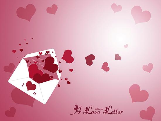 Valentine Love Letter