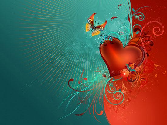 Valentine's Heart wallpaper