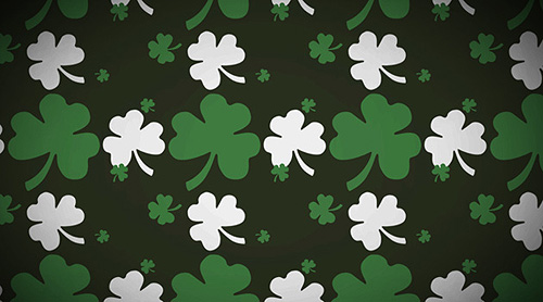 photoshop shamrock pattern