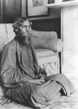 Rabindranath Tagore at Hampstead, England