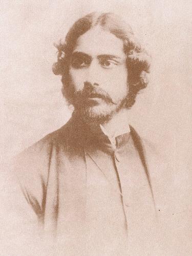 Rabindranath Tagore young age photo
