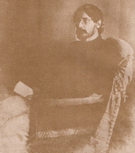 Rabindranath Tagore at the age of 40(approx)