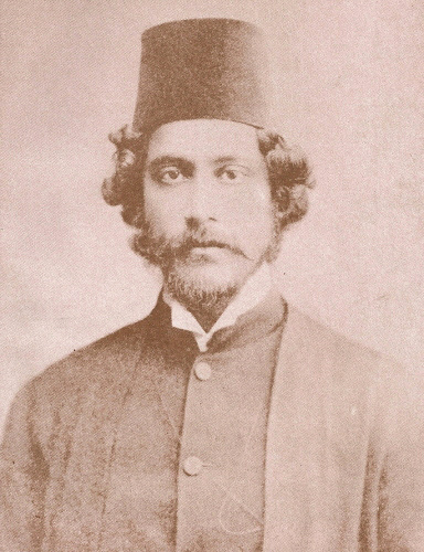 Rabindra Nath Tagore in England during his second visit