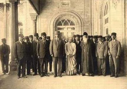 Rabindranath Tagore in Tehran
