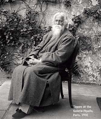 Rabindranath Tagore in Paris