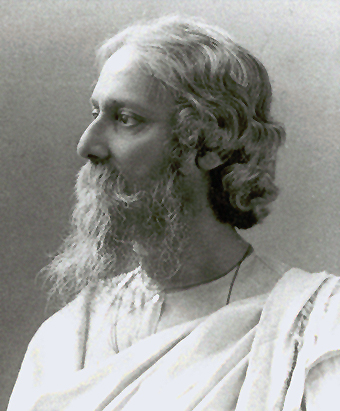 Rabindranath Tagore in the year of his knighthood