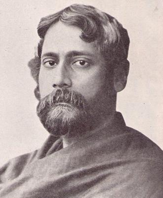 Rabindranath Tagore, 1905 - photographer Sukumar Ray