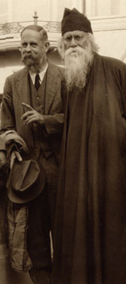 Rabindranath Tagore with C.F. Andrews