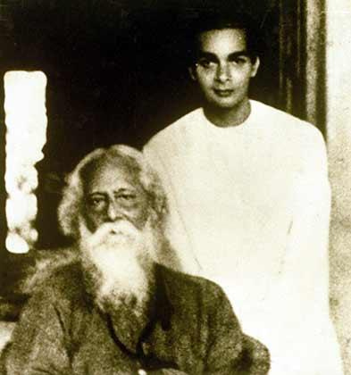Rabindranath Tagore with Uday Shankar