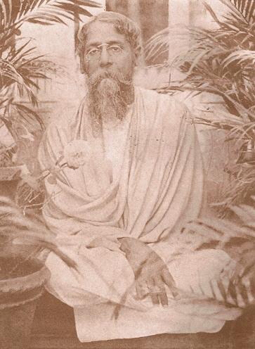 Rabindra Nath Tagore at the time of writing Bengali Gitanjali