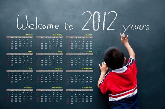 New Year Calendar 2012