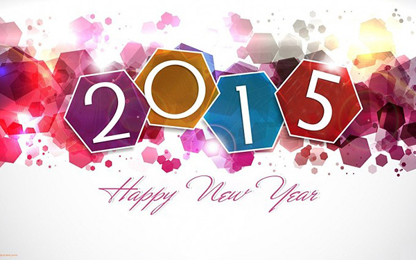 Happy New Year 2015 Background HD Wallpapers