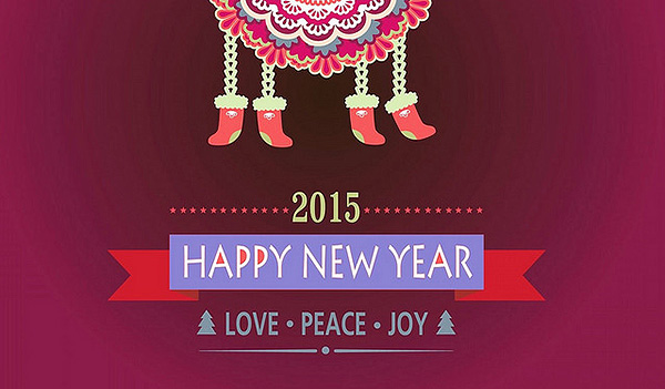 2015 Love Peace Joy Quotes Wallpaper